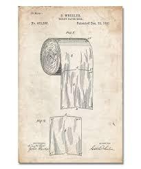 Bathroom Artwork Vintage Patent Gillette Razor Vintage Prints Patent Prints