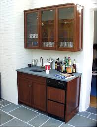 back bar cabinets with sink wet bar cabinets back to article a wet bar cabinets wet bar cabinets