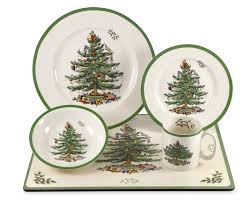 spode christmas tree 20 piece set spode christmas dinnerware