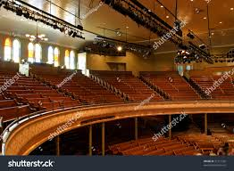 Ryman Seating Map Interior World Famous Ryman Auditorium Stock Photo 31511359
