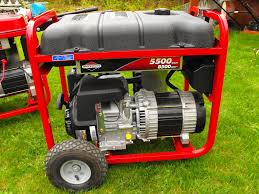 briggs and stratton model 0303206 5500w generator