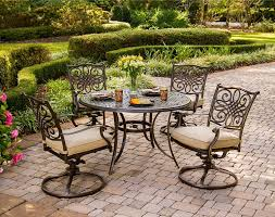 Patio Furniture Milwaukee Wi by Hanover Traditions 5pc Outdoor Dining Set Traditions5pcsw