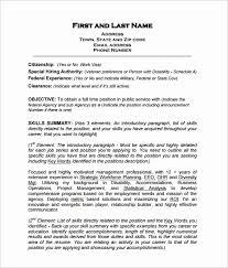curriculum vitae templates pdf resume in pdf format