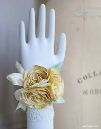 how to make wrist corsages paper flower diy corsage and boutonnière tutorial lia griffith