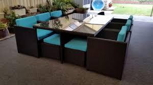 Patio Wicker Dining Set - 16 seat dining set u2013 urbani furniture