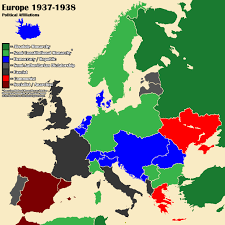 Europe Map Political by Althist Europe Map 1937 Part 2 By Daemonofdecay On Deviantart