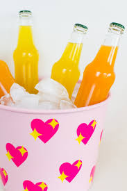 drink emoji diy emoji heart ice bucket using vinyl and your cricut explore