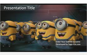 free children powerpoint templates minions powerpoint template 5102 free minions powerpoint by james sager