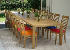 large extending dining table make the most of an indian summer with alfresco dining large