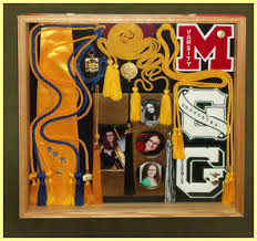 graduation shadow box graduation varsity sports shadow boxes