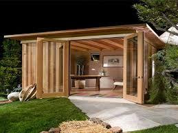 metal outdoor buildings modern cabana design back yard cabana