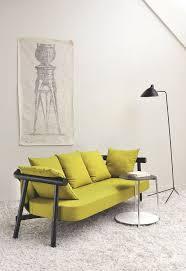 canape tissu rayures petit canapé 2 places tissu des modèles pour votre petit salon