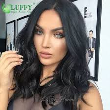 big sale 10 14 7a grade 150 density wavy human hair short bob