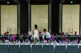 wedding arches canberra gandel set up for an nga wedding wedding canberra