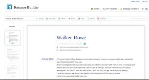 how to create a resume from linkedin
