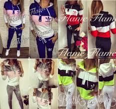 adidas crop top sweater sweater adidas womens sweatsuits sweatshirt bottoms pink