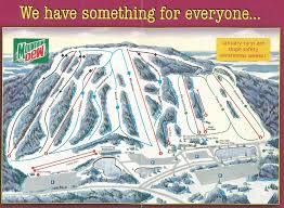 Magic Mountain Map Ski Roundtop Skimap Org