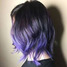 black hairstyles purple 22 purple hair shades that are all the rage for 2018