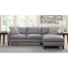 Gray Leather Sofa Gray Leather Sofas Sectionals Costco In Sofa Plan 10