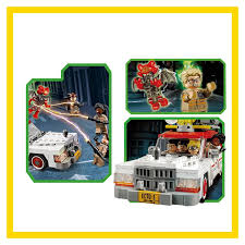 lepin 16032 586pcs new genuine movie series the ghostbusters ecto