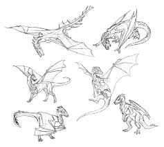 how to draw dragons step by step instructions from tooth to tail