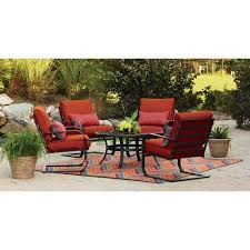 Walmart Patio Chair Cushions by Walmart 5 Piece Patio Set Unique As Outdoor Patio Furniture For