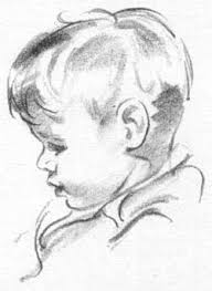 how to draw a portait of a young boy draw children tekenen