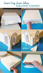 how to get sharp corners on square cakes artisan cake company