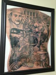 Al Capone Tattoos Al Capone Set In 1940 Gangsters Picture At