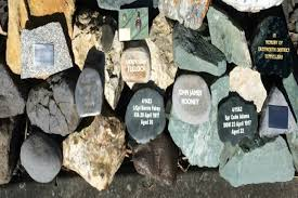 memorial rocks sunlive miners remembered in and rock the bay s news