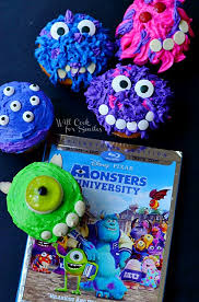 monsters university monster cupcakes cook smiles