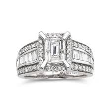 Jcpenney Wedding Rings by Diamond Engagement Ring 1 Ct T W 14k White Gold U2013 Jcpenney