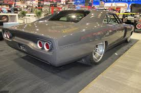 turbo dodge charger the roadster shop 1968 dodge charger is a custom at sema