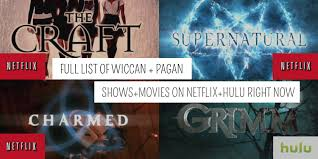 wiccan and pagan shows movies on hulu and netflix right now