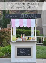 Make All From Wood Diy Lemonade Stand From Wood Pallets World Market U0027s Summer In
