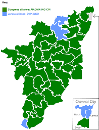 2016 Electoral Map Pre by Indian General Election 1977 Tamil Nadu Wikipedia