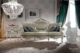 casanova canapé canapé de style en tissu 3 places avec dossier haut casanova