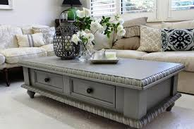 chalk paint coffee table painting a coffee table captivating painted tables diy pictures home