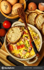id cuisine simple scrambled eggs with herbs simple protein breakfast with fresh