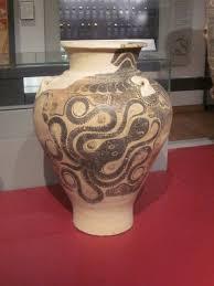 Minoan Octopus Vase Ashmolean Museum Oxford Winchesterhistory