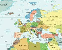 map of euorpe map of europe political