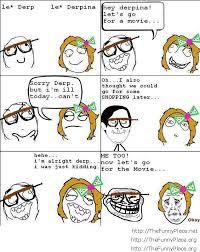 Le Derp Meme - funny le derp thefunnyplace