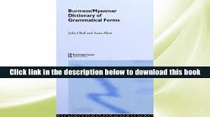a pocket style manual by diana hacker pdf download burmese myanmar dictionary of grammatical forms anna j