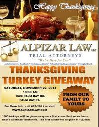 alpizar thanksgiving turkey giveaway waoa fm