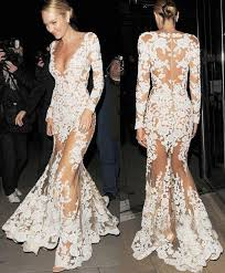 wedding evening dress 2015 trend white new wedding evening dresses mesh lace sleeve