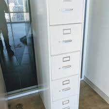Vertical File Cabinets by Hon Vertical File Cabinet 5 Drawer Light Grey U2013 Used Office