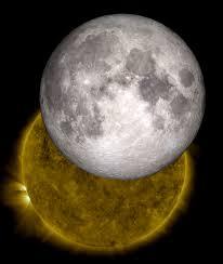 visualization of the moon and sun nasa
