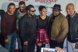 Barnes Barber Shop Barbershop The Next Cut U201d Cast Members Promotes Film Visit