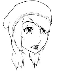my hair anime sketch by ichirukiforever134 on deviantart