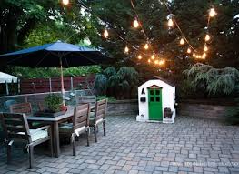 String Lights On Patio Patio String Lights Objectifsolidarite2017 Org